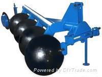 disc plough, disc harrow,