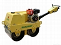 walk-behind Double Drums Road Roller with CE Certification