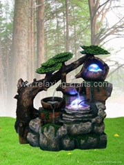 Polyresin Fountain With Mist