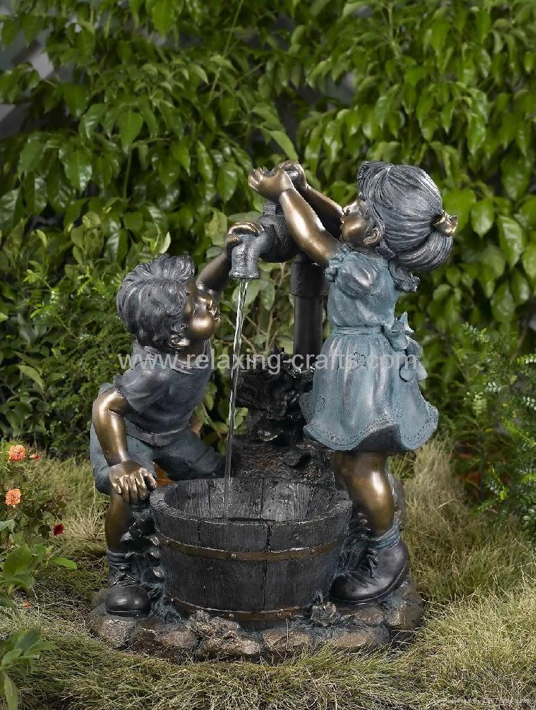 Children Playing Water Fountain  1