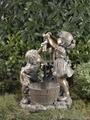 Children Playing Water Fountain  3