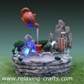 Teapot Water Fountain With Mist  1