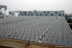 集中集热-分户水箱太阳能热水系统工程方案