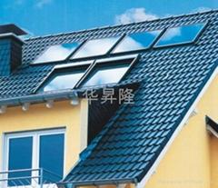 平板式集中供热水型太阳能热水系统