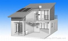 华升隆别墅型太阳能热水系统