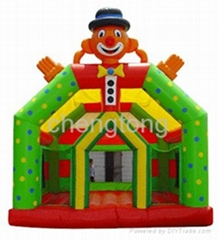Inflatable bouncer with