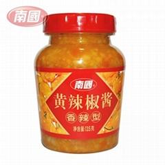 南国香辣黄辣椒酱