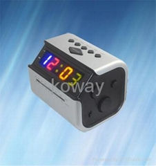 "0.9"" AM/FM LED Alarm Clock Radio"