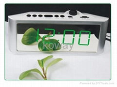"1.8"" AM/FM LED Alarm Clock Radio"