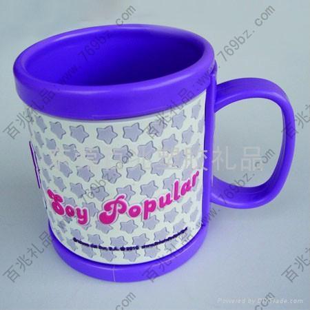 塑膠馬克杯 3
