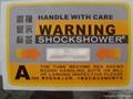 防震標籤SHOCKWATCH