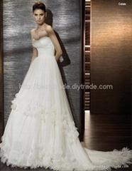 2011 new styles wedding dress new0839