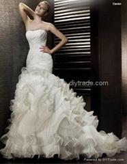 2011 new styles wedding dress new0859