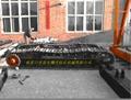 kqg150鑽機配件行走輪架