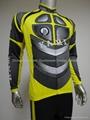 sublimation transfer printing long sleeve cycling jersey/bike jersey/cycling shi 4