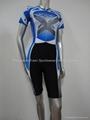 short sleeve speed skin suit,sportswear