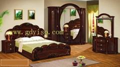 Antique bedroom sets(MDF bedroom suite)
