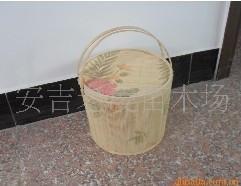 供應竹籃 水果籃 月餅籃 各種休閑食品包裝籃 1