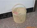 供應竹籃 水果籃 月餅籃 各種
