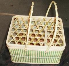 供應竹籃 水果籃 月餅籃 各種休閑食品包裝籃