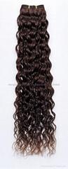 flat tip human hair extension,