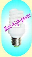 Mini-high-power Full Spiral CFL