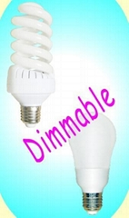 Smooth Dimmerable CFL