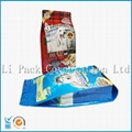 Slider zipper quad seal bag - volume 10 kg pet food bag 1