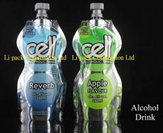 250ml Alcohol drink - spout pouch