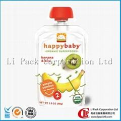 Baby food - retort spout pouch
