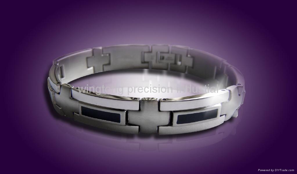 316L stainless steel bracelet 1