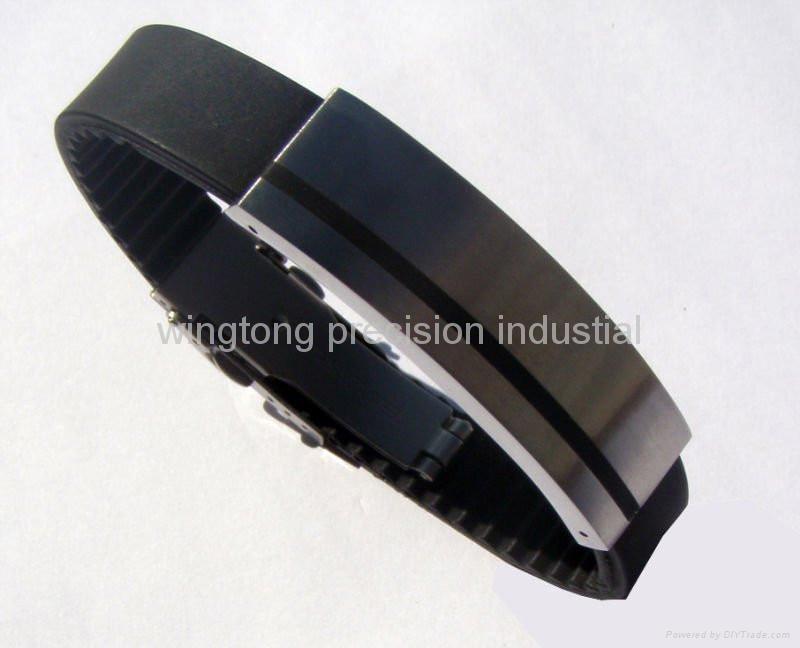 Fashion stainless steel bracelet 1