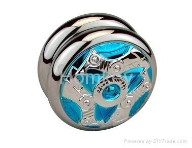 Super Metal yoyo Plating body Long spin time large Ball bearing yoyo String tric 1