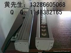 供应:6030中铝长条形大功率led洗墙灯