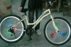 发光自行车