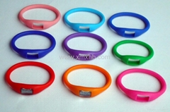 charm silicone ion sport watch