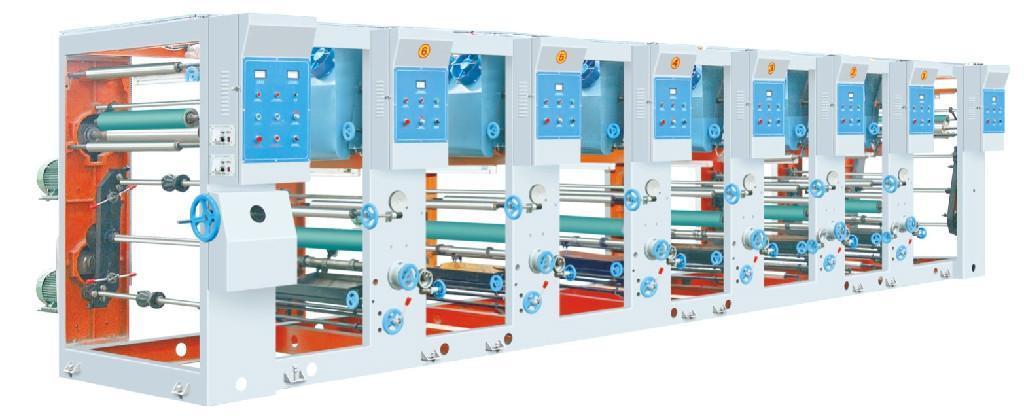 Six Color Gravure Printing Machine 1