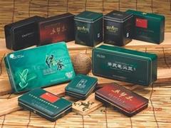 中華品牌茶葉鐵盒