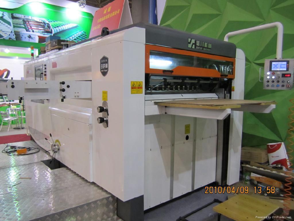 semi automatic die cutting machine