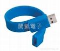promotion wristband usb flash drive