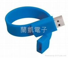 promotion wristband usb flash drive