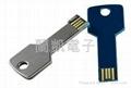 customized logo 1-16GB Metal Key USB