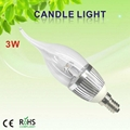 led candle global bulb lighting light