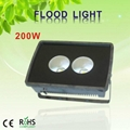 200W floodlight highbay led street tunnel lamp lighting light