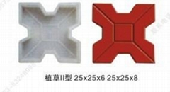 浙江嘉兴市政彩砖塑料模具