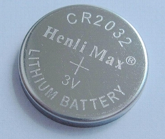 CR2032Henli Max  Lithium Coin Cell