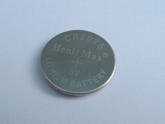 CR2025-Henli Max Lithium/Manganese Dioxide Button-cell Batteries