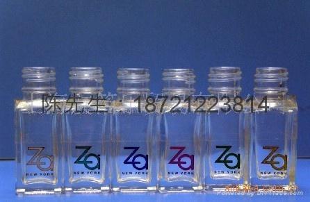 香水瓶玻璃塗裝燙金紙 1