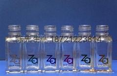 香水瓶玻璃塗裝燙金紙