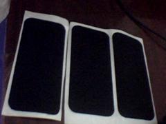 Phone casing slip stickers